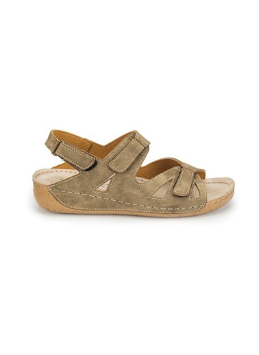 Polaris Sandalet Camel